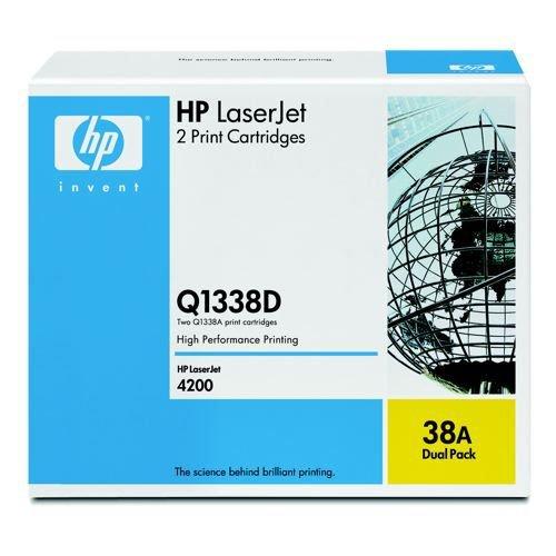 Hewlett Packard Laser Toner Cartridge Black Q1338A