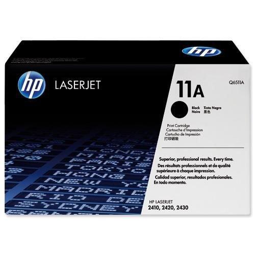 Hewlett Packard LaserJet 2410/20/30 Smart Print Cartridge (up to 6000 Pages) Black Q6511A