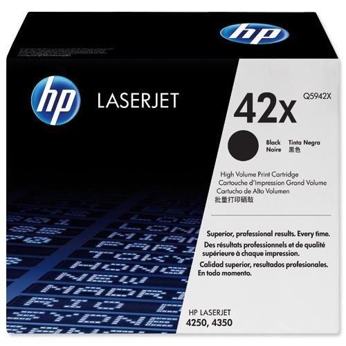 Hewlett Packard Laser Toner Cartridge Black Q5942X