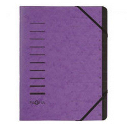 Pagna Pro 12 Part File A4 Purple Each