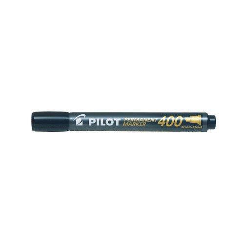Pilot 400 Permanent Marker Black Chisel Tip
