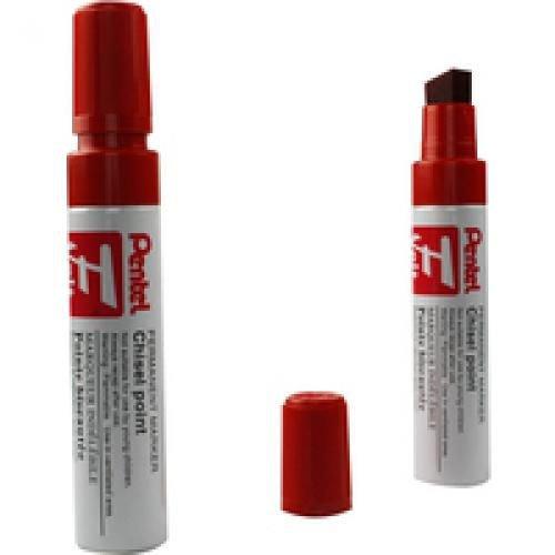 Pentel Jumbo Marker N50XL Up To 14mm Line Width Red