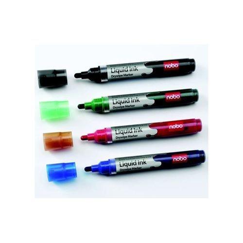 Nobo Liquid Ink Drymarker Black
