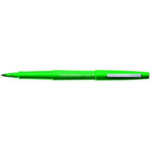PaperMate Fine Line Marker Nylon 1.1mm Tip 0.8mm Line Green