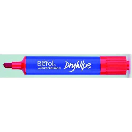Berol Drywipe Pen Chisel Assorted Display Pack 48