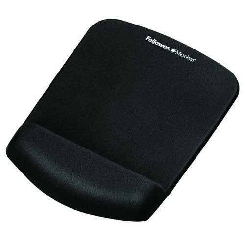 PlushTouch Mousepad Wrist Support Black