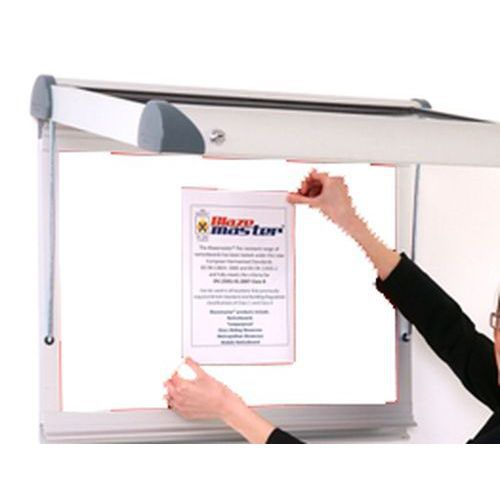 Adboards Internal Tamperproof Noticeboard 12 Portrait 1050x1015mm