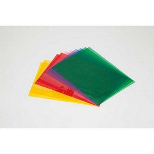 A4 Cellophane Sheets Assorted 48 sheets