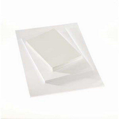 Classmates White Card 280m A2 Pack 25