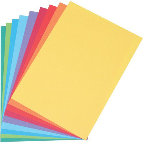 Coloraction Tinted Paper MID Yellow (Canary) FSC4  A4 210X297mm 160Gm2 210Mic Pack 250