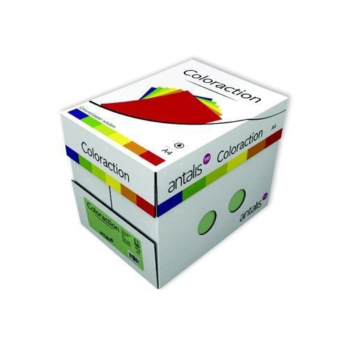 Coloraction Tinted Paper Dark Red (London) FSC4 A3297X420mm 80Gm2 Pack 500
