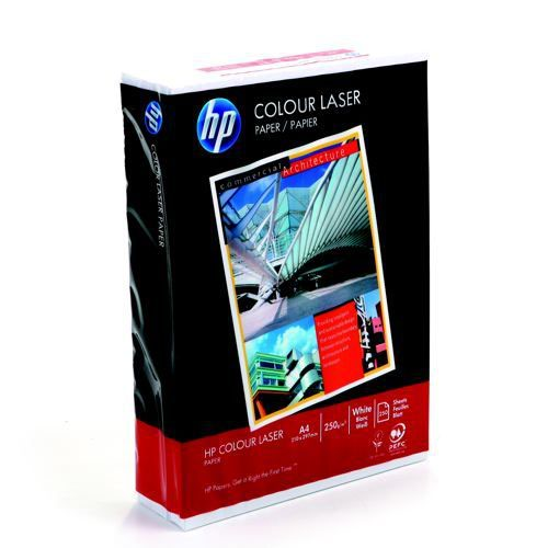 Hewlett Packard ColorChoice Paper White Paper White A4 250 gm 250 Sheets CHP756