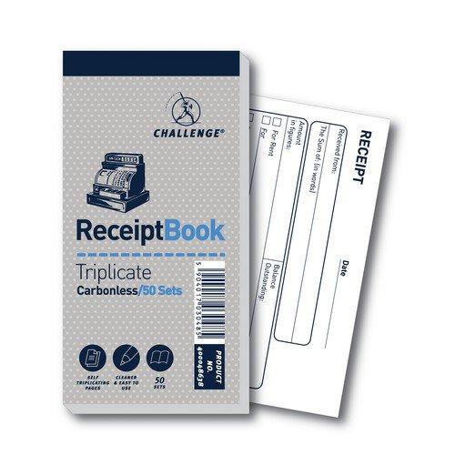 Challenge Trip Book 70x140 Receipt (Pack of 10) 400048638