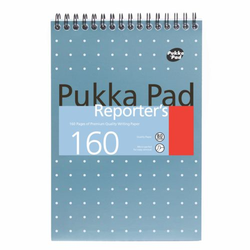Pukka Pad Shorthand Notebook 160 Pages Blue