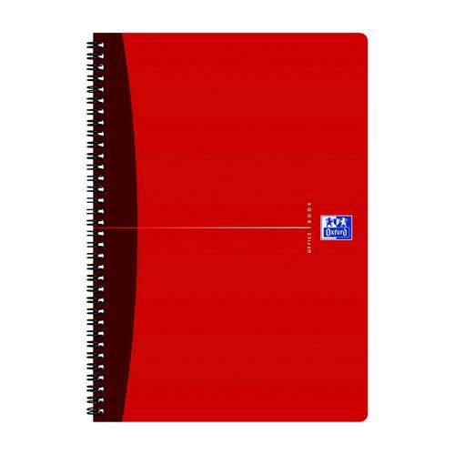 Oxford Office Wirebound Polypropylene Notebook A4 Pack 5