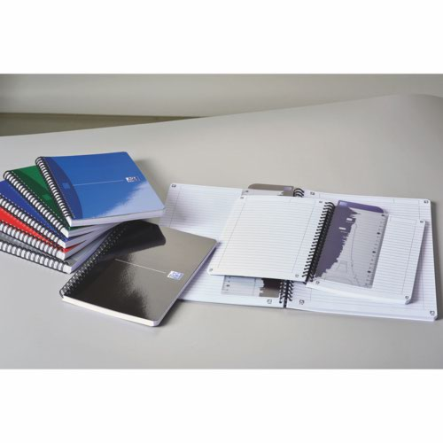 Oxford Office Wirebound Notebook Soft Cover Pack 5