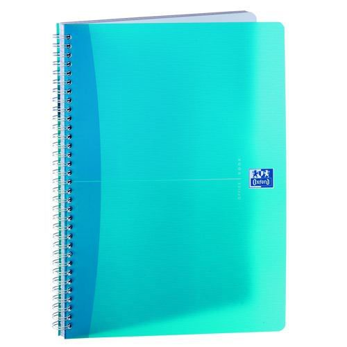 Oxford Office Wirebound Notebook A4 Assorted Pack 5