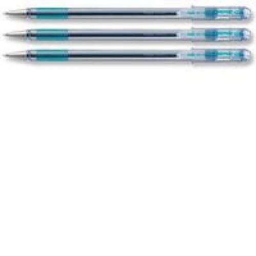 Pentel Superb Ball Point Pen Fine 0.7mm Tip 0.25mm Line Blue