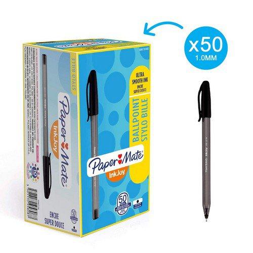 Papermate Inkjoy 100 Black Pack 50