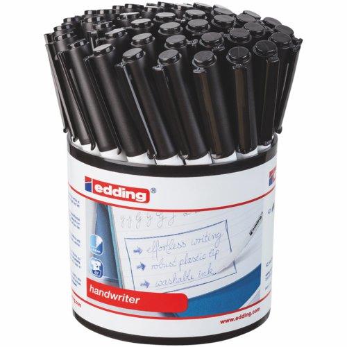 Edding Handwriter Black Pen Tub 42