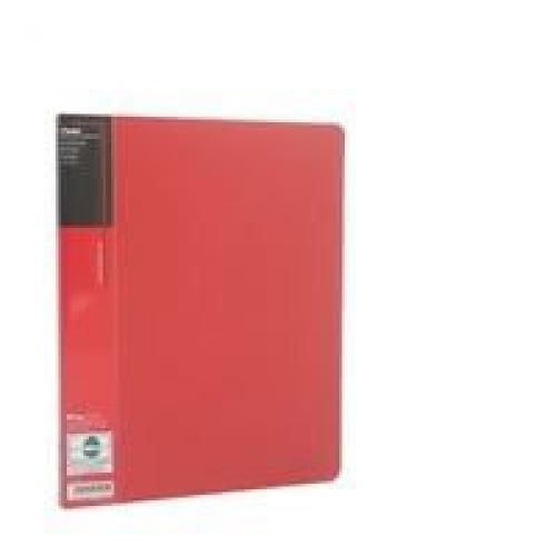 Pentel Recycology A4 Display Book 20 Pockets Red PK10