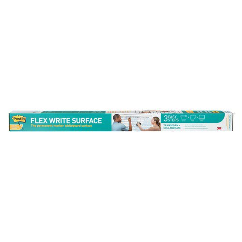 Post-it Flex Write Surface The Permanent Marker Whiteboard Surface 90x120cm