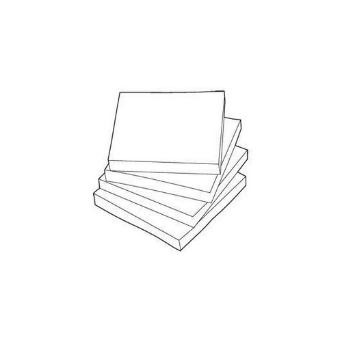 White Box Sticky Note 76x 127 mm Yellow 100 Sheets Per Pad