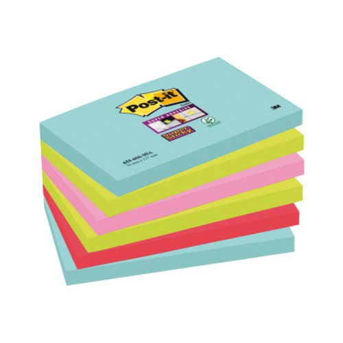 Post-it Super Sticky Notes Miami 76x127mm