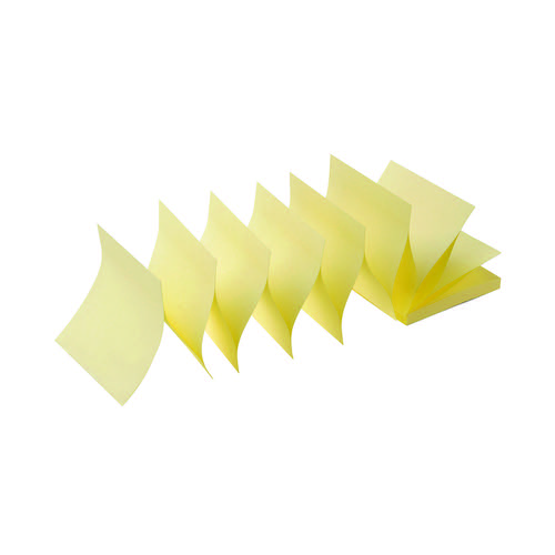 Initiative Sticky Z-Notes 76 x 76mm (3 x 3 Inches) Yellow