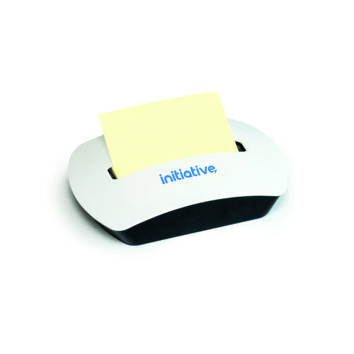 Initiative Sticky Z-Note Dispenser Plastic supplied with 76x76mm Z Note Pad