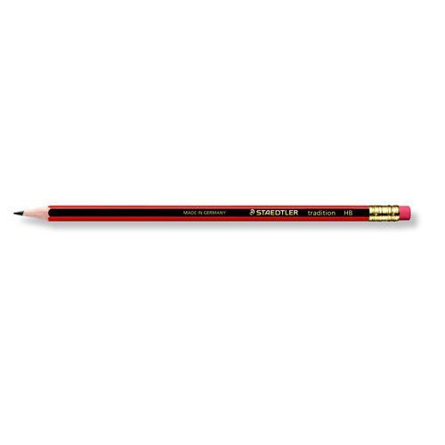 Staedtler 110 Tradition Pencil Cedar Wood with Eraser HB