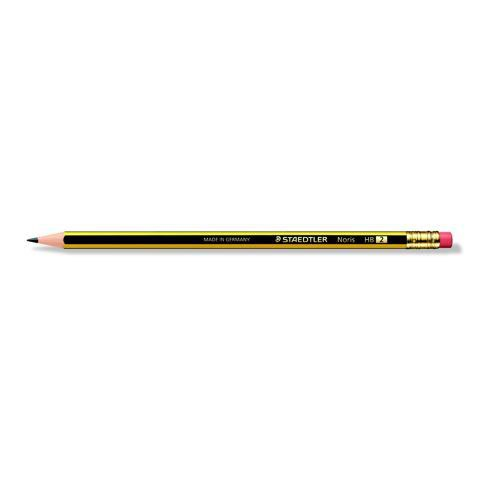 Staedtler 120 Noris Pencil Cedar Wood with Eraser HB