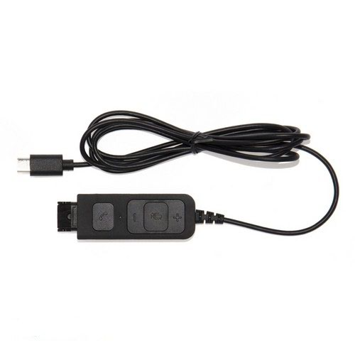 Lync And Skype Compatible Qd To UsbC Allows The Headset To Be Detached Without Losing The Call.