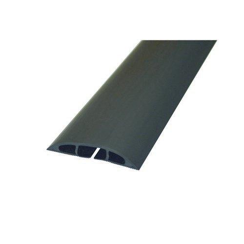 D-Line Black Light Duty Floor Cable Cover 80mm Wide 9M Long