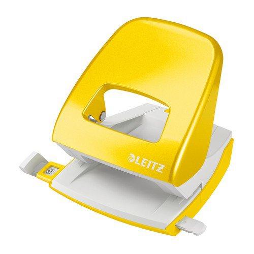 Leitz Hole Punch NeXXt WOW 30sh Yellow