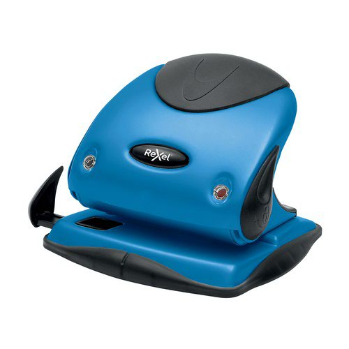 Rexel Choices P225 2 Hole Punch Blue