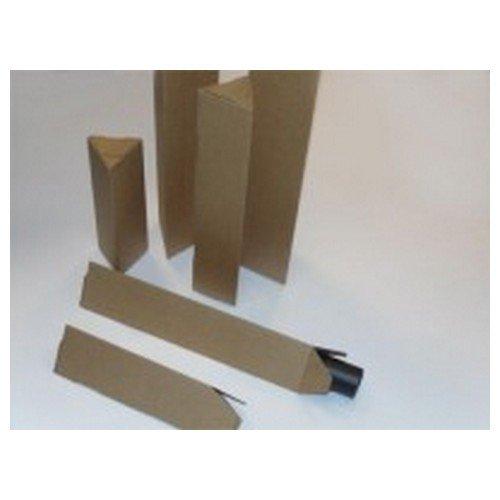 Triangular Postal Tube Self Seal 750x128x75mm Pack 25