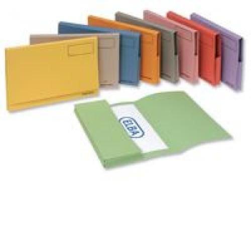 Elba Guidex Long Flap Document Wallet Green