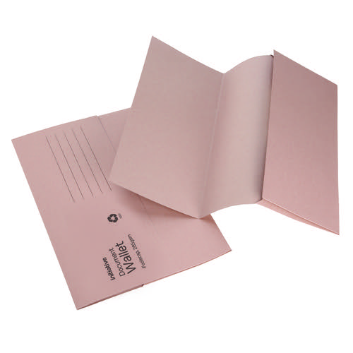 Initiative Document Wallet Foolscap Medium Weight 285gsm Buff