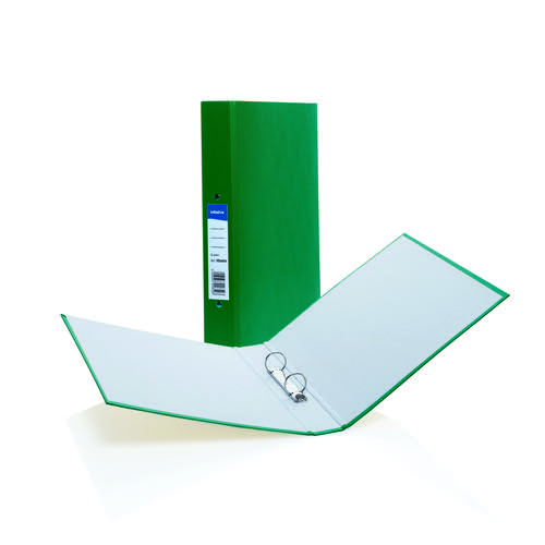 Initiative Paper on Board 2 Ring Binder 25mm Capacity A4 Green