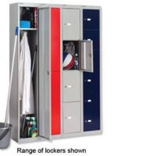 Bisley 6 Door Locker D305mm Goose Grey BY09214
