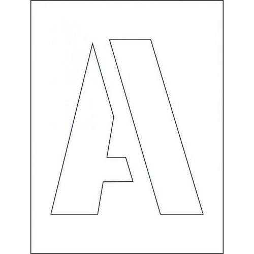 250mm Letters Stencil Kits (A-Z)