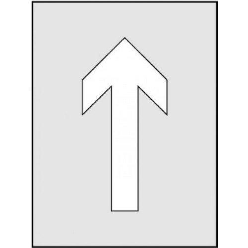Arrow Symbol Stencil (190 x 300mm)