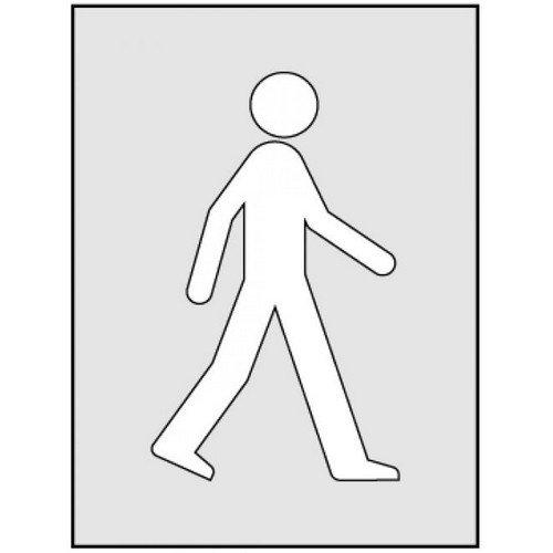 Walking Man Stencil (400 x 600mm)