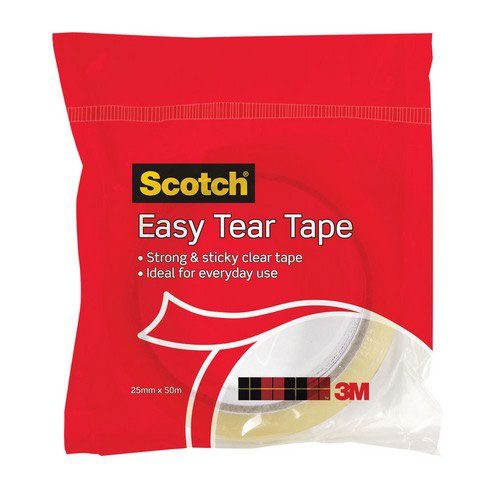 Scotch 508 Clear Tape 25mmx50M