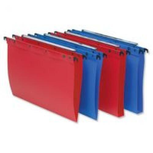 Loblique Polypropylene Ultimate Suspension File FC 30mm Base Red