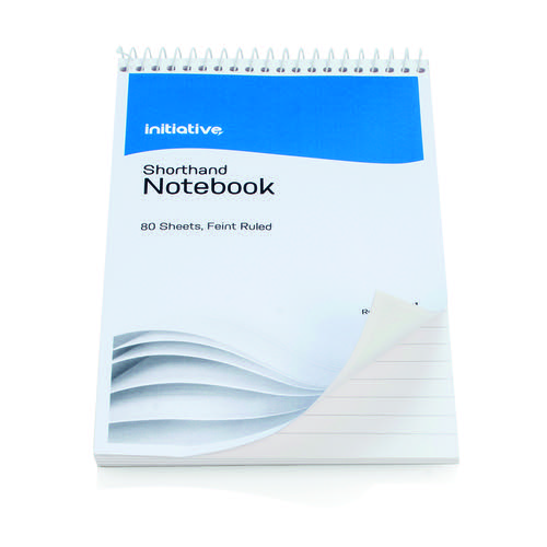 Initiative Shorthand Notebook 160 Pages 203 x 127mm (8 x 5 Inch) 60gsm Paper