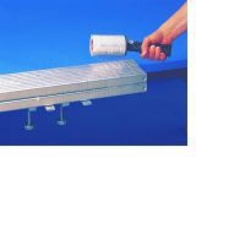 Hand Stretch Film NY25BLK 500mm x 250m Black Stretch Film Cardboard Core