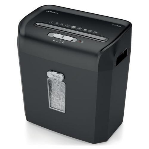 Rexel Promax QS RPX612 Cross Cut Paper Shredder Black