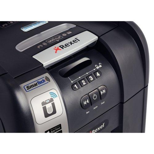Rexel Autoplus Smartech 300X Shredder Cross Cut P-4
